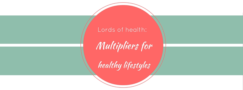 lords of health multipliers of healthy lifestyles bg be active training