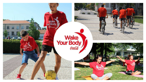 wake your body Активна събота инициатива на BG Бъди активен и Coca Cola Bulgaria