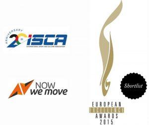кампанията NowWeMOVE е сред петте най-добри кампании за Спорт и лайфстайл на European Excellence Award 2015