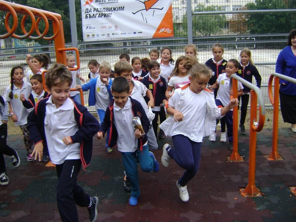 european school sport day bulgaria move week bulgaria 2015