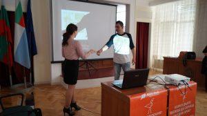 Награда за цялостен принос към кампанията NowWeMOVE България 2015 на Общински младежки дом Монтана