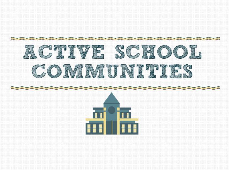 BG Бъди активен е координатор на международния проект Active School Communities, който е финансиран от ЕС