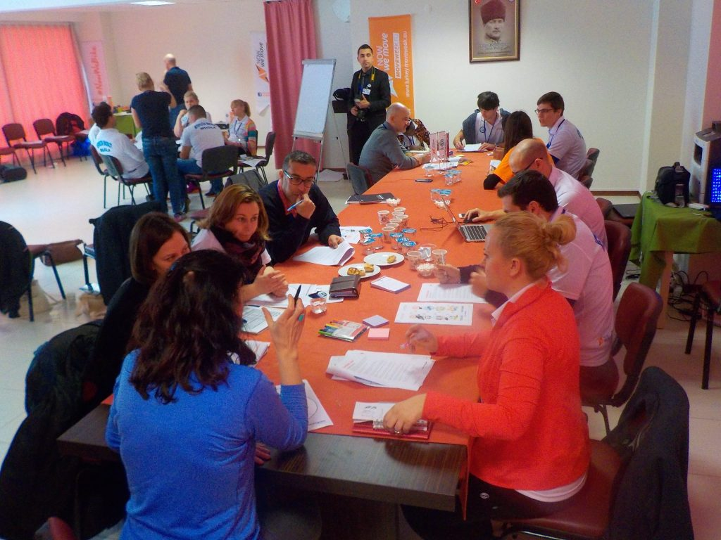 среща на националните координатори на кампанията NowWeMOVE
