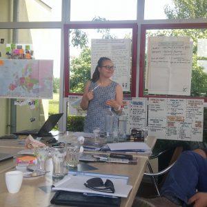 Първа среща по проект за младежи обучаващи връстниците си