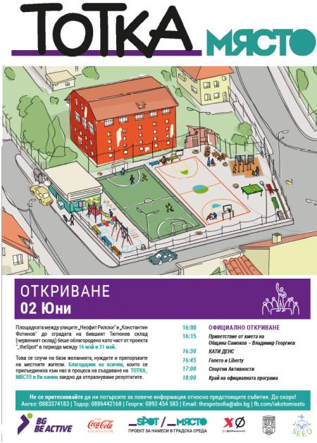 Плакат Тотка_място