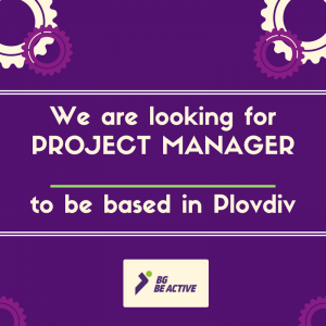 Join BG Be Active – we are looking for a Project Manager
