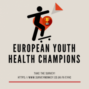 Включете се в анкета по проект European Youth Health Champion
