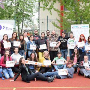 26 младежи от цялата страна преминаха обучени за Младежки MOVE Агенти