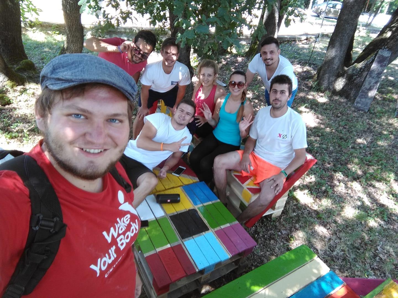 EVS доброволците на BG Бъди активен обикалят страната