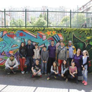 Гаража_Място събира най-добрите графити майстори