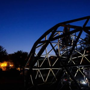 Сферичният купол в Шумен е готов!