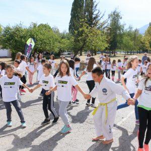 Над 10 вида физическа активност по време на откриването на Европейски ден на спорта в училище