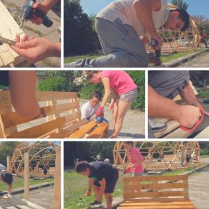 Видео урок: Направи си сам – пейка