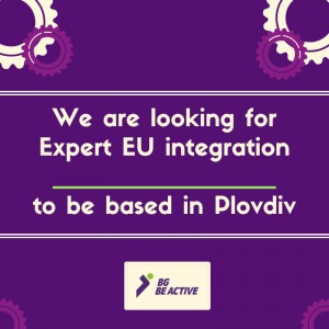 Rejoignez BG Be Active – Nous sommes à la recherche d'un expert en intégration européenne