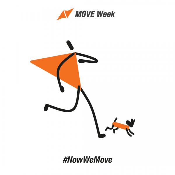 move week разходка с куче